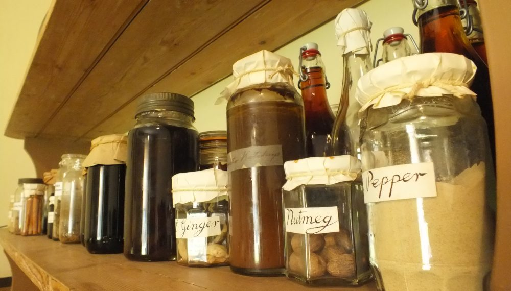 Old kitchen Jars
