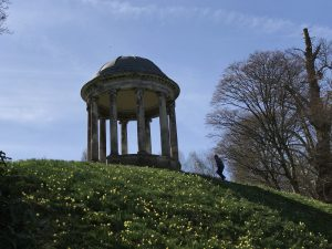 Bandstand on top of a hill