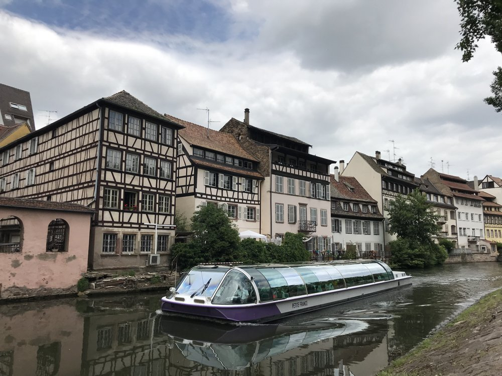 Boat Tour on Strasbourg Canal